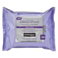 Love!!!! Great for taking eye makeup off. Neutrogena Makeup Remover Night Calming Wipes - 25 Count