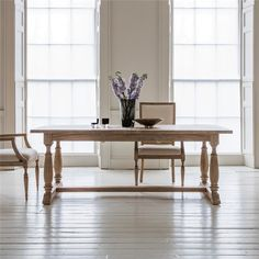 Mirren Solid Mindi Wood Extension Dining Table (Table Only), 250cm