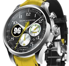 "Baume & Mercier 'Legendary Driver' Capeland Shelby Cobra Limited Edition Watches - by Richard Cantley - See more of these Cobra-inspired watches now at: aBlogtoWatch.co - ""As part of their continued partnership with Shelby Cobra and in celebration of the 25th anniversary of McCall's Annual Motorworks Revival, Baume & Mercier are releasing four limited edition 'Legendary Driver' chronograph watches to honor four drivers..."""