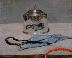 """William Nicholson, """"The silver casket"""". 1919"""