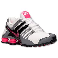 ivenda.com: Tênis Nike Shox Women's Shox Current Running White Hyper Pink Cool Grey 639657 10