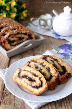 Biscotti rustici alla marmellata con frolla all'olio - ricetta della nonna Biscotti, Banana Bread, French Toast, Breakfast, Cake, Desserts, Morning Coffee, Pie Cake, Cakes