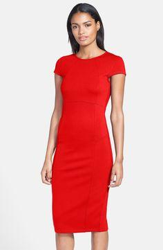 Red dress size 6 petite rain