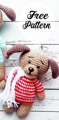 Awesome Free Amigurumi Dog Pattern Ideas for 2020 | Free amigurumi crochet patterns, Amigurumi Blog!