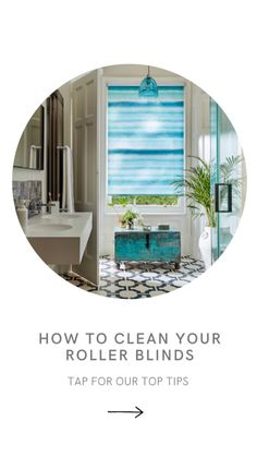 Roller Blinds, Home Interior Design, Cleaning Hacks, Bathroom, Washroom, Full Bath, Interior Design, Bath, Bathrooms