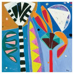 Gillian Ayres RA 'Widsith' Greeting card Royal Academy of Art Abstract Abstract Painters, Abstract Art, Adult Art Classes, Royal Academy Of Arts, Motif Floral, Colorful Paintings, Pastel Art, Contemporary Artists, Cool Art