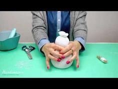 Sněhulák z ponožky (Sock snowman) - Výplň rýží (Fill rice) - YouTube
