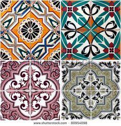Tiles Pattern Fotos, imagens e fotografias Stock   Shutterstock