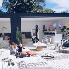 So excited for our house to be featured in next month 〰 Little behind the scenes photo by Pammy. Cannot wait to see magic. Products tagged x Outdoor Rooms, Outdoor Living, Outdoor Decor, Interior And Exterior, Interior Design, Interior Ideas, Exterior Stairs, Cottage Exterior, Exterior Paint
