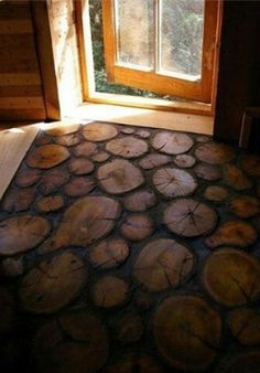 Cross-section Wood floors