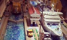 El Canal de Panamá hecho de LEGO