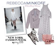 """""""Rebecca Minkoff NYFW - SeeBuyWear!"""" by hattie4palmerstone ❤ liked on Polyvore featuring Rebecca Minkoff, women's clothing, women, female, woman, misses, juniors, rebeccaminkoff, contestentry and seebuywear"""