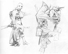 John Singer Sargent - Sketches