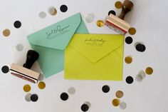 Small Custom Address Stamp
