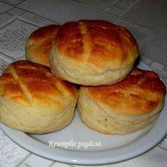 Pehelykönnyű krumplis pogácsa Recept képpel -   Mindmegette.hu - Receptek