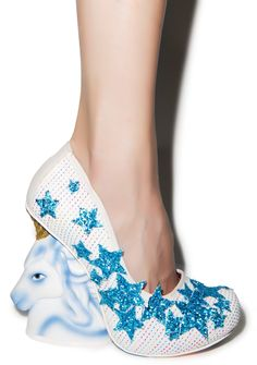 Irregular Choice The Eternal Friend Heels | Dolls Kill  If I ever had a reason to wear these, I so would!