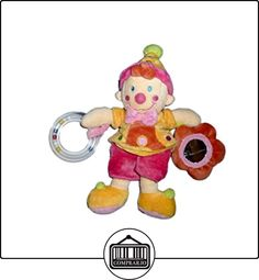 Doudou payaso gnomo niño rosa vêtir Nicotoy 26cm sonajero espejo  ✿ Regalos para recién nacidos - Bebes ✿ ▬► Ver oferta: http://comprar.io/goto/B0158WXRYA