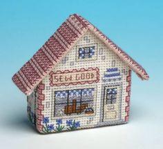 image of Sew Good Craft Shop 3D Fridge Magnet Cross Stitch Kit
