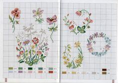 MANGO ''Nature au point de croix'' modele Veronique Enginger