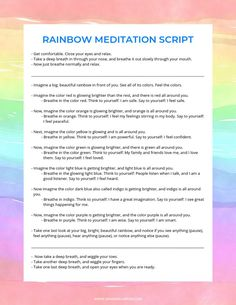 guided meditation scripts for kids ~ guided meditation scripts + guided meditation scripts mindfulness + guided meditation scripts for kids + guided meditation scripts yoga + guided meditation scripts self love + guided meditation scripts letting go Meditation Kids, Mindfulness For Kids, Meditation For Beginners, Mindfulness Activities, Meditation Techniques, Chakra Meditation, Guided Meditation, Mindfulness Training, Mindfulness Practice
