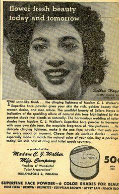 madam cj walker ad by nebraska black, via Flickr