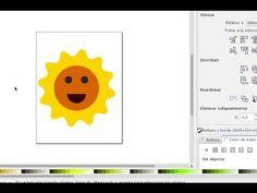 Como hacer dibujos en la computadora con Inkscape  Parte 4