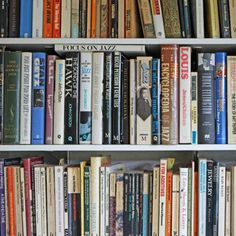 Prop up sagging bookshelves with paint stirrers cut  to the height of the spacing between shelves. Just wedge them in at the shelves' midpoints, edges facing out. They'll bear the weight and disappear between books.   Photo: Richard Newstead/Flickr/Getty   thisoldhouse.com