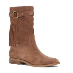 Michael Kors tan suede fringe tassel ankle boots Michael Kors tan suede fringe tassel ankle boots. Sizes available: 6.5 & 8. Authentic Michael Kors and genuine brown tan suede tan. Great slip on designer boot. Gold hardware. An absolutely stunner pair of boots! Rhea style. The size 8 has the smallest wear mark on the tip of the right boot from 'shelf wear' only. Absolutely brand new and authentic. Michael Kors Shoes Ankle Boots & Booties