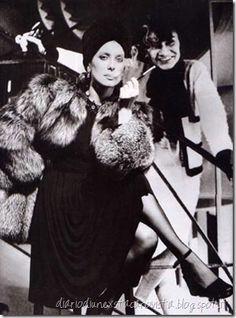 Catherine Deneuve and Coco Chanel