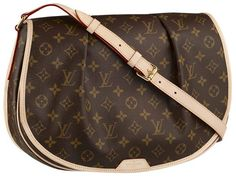 I'm really loving this LV Menilmontant. I need to go see it in person. It's a crossbody