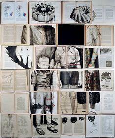 Ekaterina Panikanova's Paintings On Books | Yatzer