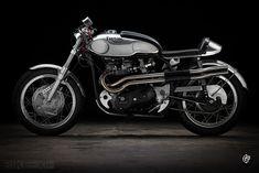 Triton motorcycle - Triumph engine, Norton frame - via Bike EXIF