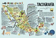 Tacografía de México - ¿Dónde puedes comer los mejores tacos en México?