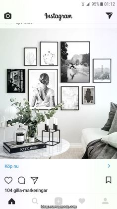 Lovin' this arrangement … mixed sizes are brought together with the use of the same frame and all B&W images. Lovin' this arrangement … mixed sizes are brought together with the use of the same frame and all B&W images. Living Room Interior, Home Living Room, Living Room Decor, Bedroom Decor, Picture Wall Living Room, Living Room Gallery Wall, Pictures On Wall Living Room, Family Wall Photos, Living Room Wall Ideas