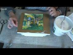 Р.Нерутдинова. Переход цвета в работе со структурной пастой