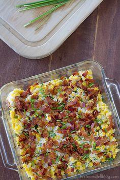 recipe: corn casserole with cream cheese and sour cream [34]