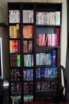 I am to do this with my next bookshelf.