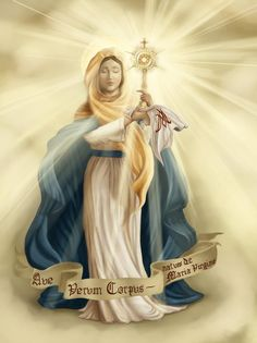 theeyoungcardinal:    our lady of the most blessed sacrament