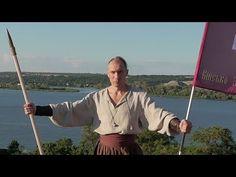 Cossack of Ukraine. Cossack hits, weapons of Kolobroda (battle lines). - YouTube