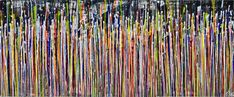 Daydream panorama (Natures imagery) 12 Painting by Nestor Toro   Saatchi Art Abstract Expressionism, Abstract Art, Original Art, Original Paintings, The Other Art Fair, Golden Color, Daydream, Saatchi Art, Canvas Art