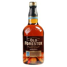 Old Forester Classic 86 Proof Kentucky Straight Bourbon Whisky - Crown Wine & Spirits Best Bourbon Whiskey, Bourbon Drinks, Cigars And Whiskey, Whiskey Bottle, Whiskey Trail, Liquor Drinks, Beverages, Whiskey Distillery, Spirit Drink
