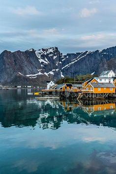 """Sakrisøy, Lofoten, Norway """""""