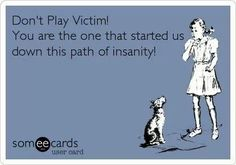 ... victim card... Some are jus experts at playing victims!! Ur pathetic