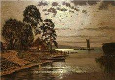 Lorenz-Murowana, Ernst Hugo (geb.1872 Murowana-Goslin) Painters, Still Life, Restoration, German, Art, Moonlight, Auction, Landscape, Deutsch