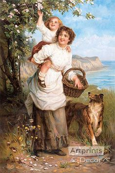 """""""Life's Sunny Hours"""" -- by Frederick Morgan *"""