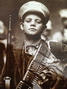 Mexican Boy Soldier, 1910