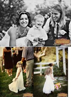 Style Icon Wedding Ring Bearer and Flower Girl