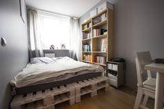 jak zrobić łóżko z palet euro - Szukaj w Google