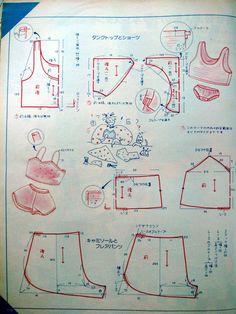 SO-EN № 2 1985-2.. Обсуждение на LiveInternet - Российский Сервис Онлайн-Дневников Diy Clothes Patterns, Sewing Patterns, Japanese Sewing, Altering Clothes, Sleepwear Women, Fashion Sewing, Diy Clothing, Baby Sewing, Pattern Paper