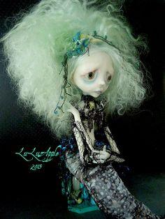 Mermaid Sea Witch Art Doll OOAK creepy sad Vedava by LuLusApple